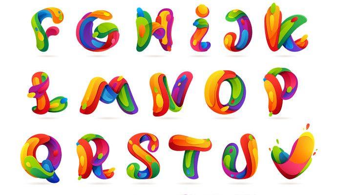F-05字母ABC-01-004